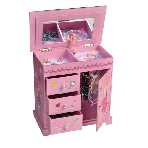Mele & Co. Krista Musical Dancing Fairy Jewelry Box - 9.5W x 9H in.