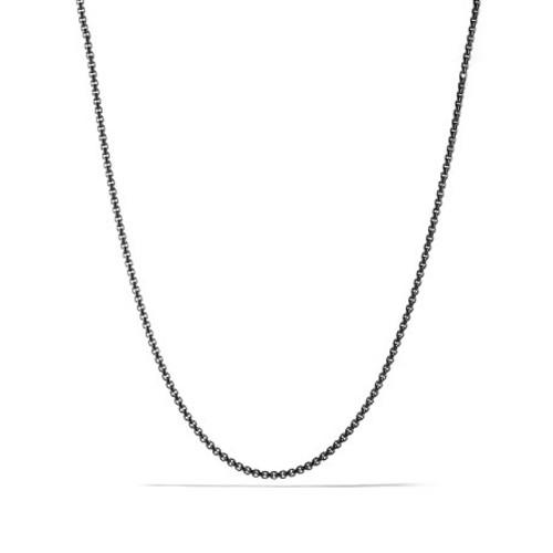 Small Box Chain Necklace, 26