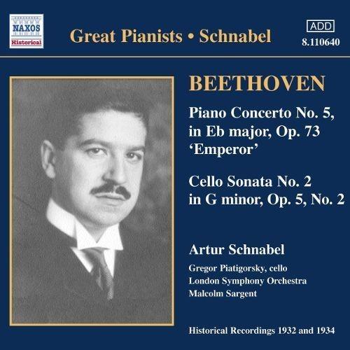 Beethoven, L. Van - piano Concerto No.5-Cello - CD