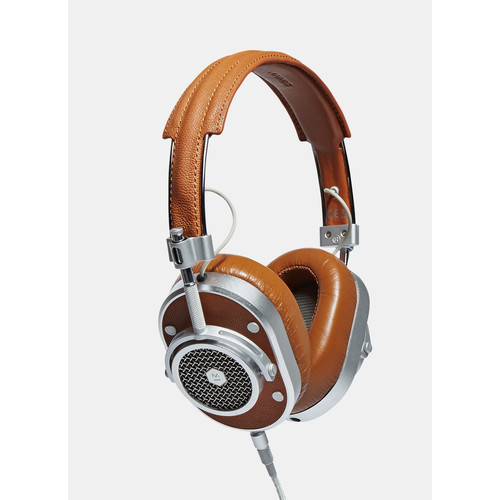 Master & Dynamic MH40 Over Ear Headphones in Brown
