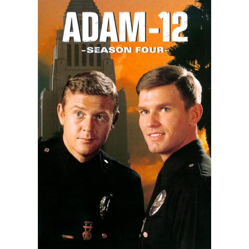 Adam-12: Season Four [4 Discs] [DVD]