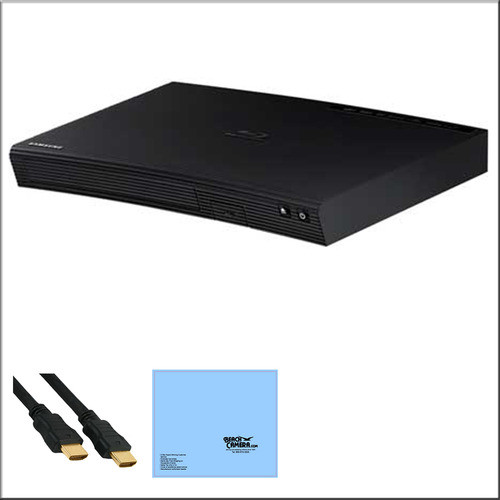 Samsung BD-J5900 - 3D Wi-Fi Blu-ray Disc Player + Bundle