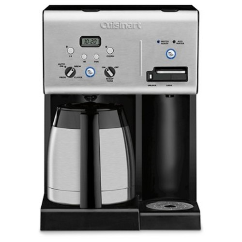 Cuisinart 10 Cup Programmable Coffee Maker & Hot Water System - Stainless Steel CHW-14