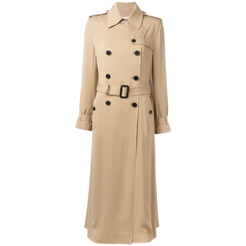 VALENTINO Double Breasted Trench Coat