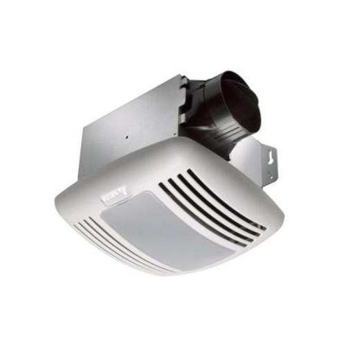 Delta Breez GreenBuilder Series 80 CFM Ceiling Bathroom Exhaust Fan with Light, Humidity, Motion Sensor and Adjustable Speed Control