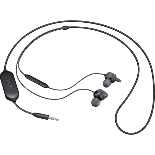 Samsung - Level In Active Noise Cancelling Headphones - Black