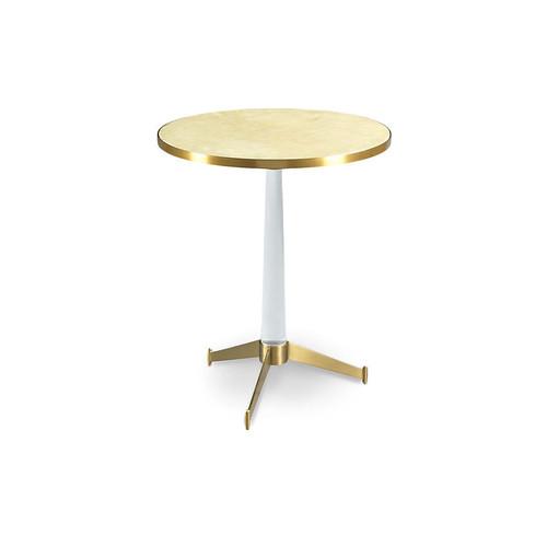 Nick Side Table, Beige