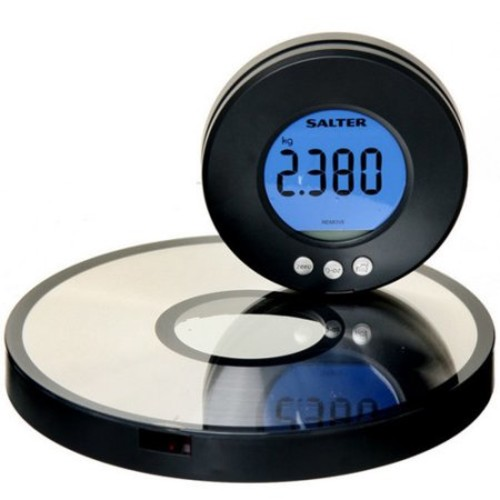 Imperial Home LCD Wall Mount Aquatronic Kitchen Scale and Clock