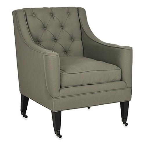 Safavieh Sherman Arm Chair in Blue
