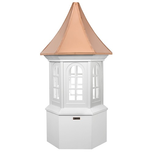 Good Directions Smithsonian Georgetown Vinyl Cupola with Copper Roof, 30