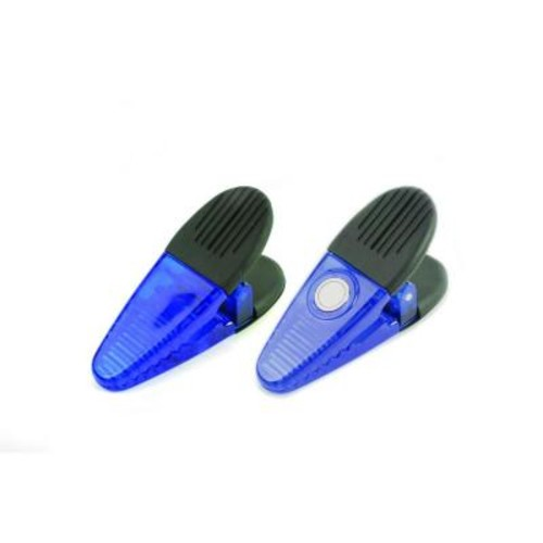MASTER MAGNETICS Blue Utility Magnetic Clips (2-Piece per Pack)