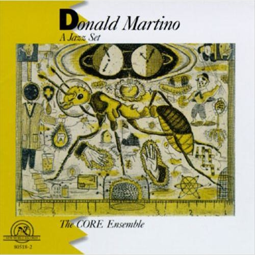 Donald Martino: A Jazz Set [CD]