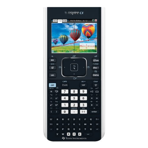 Texas Instruments TI-Nspire CX Graphing Calculator [Black, Standard]