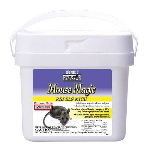 Bonide Mouse Magic Pest Repellent , [(12) 0.5 Oz. Pouches]