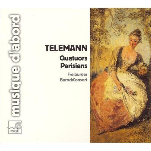Telemann: Quatuors Parisiens [CD]
