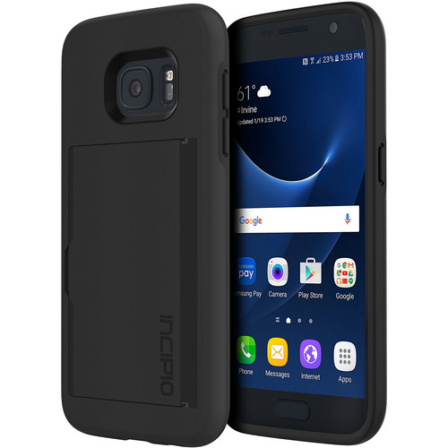 STOWAWAY Case for Galaxy S7 (Black)