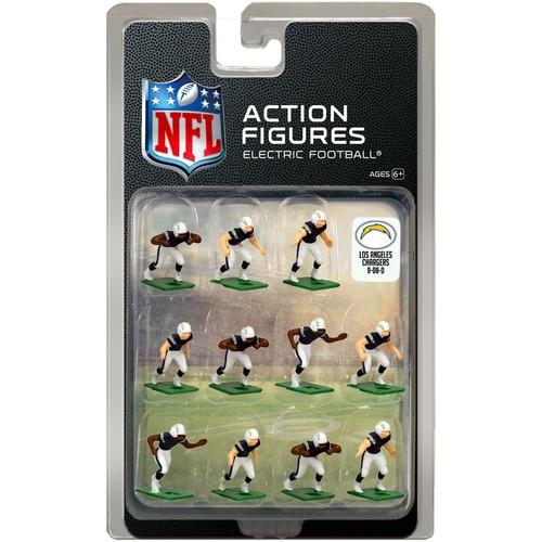 Tudor Games Los Angeles Chargers Dark Uniform NFL Action Figure Set