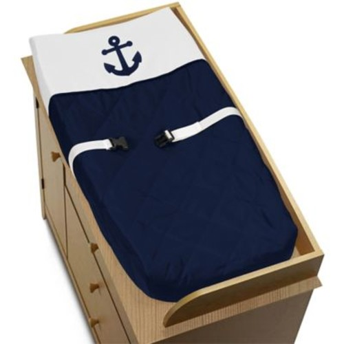 Sweet Jojo Designs Anchors Away Changing Pad Cover