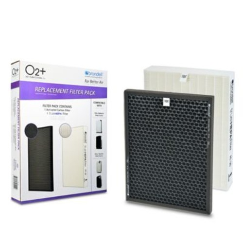 Brondell 2-Pack HEPA and Carbon Filters for Brondell P300 and P400 Air Purifiers