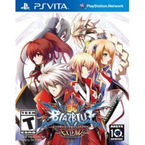 BlazBlue: Chrono Phantasma EXTEND - PlayStation Vita