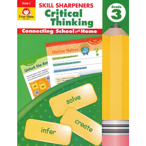 Skill Sharpeners Reading Grade 3 Workbook