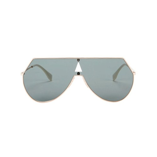 FENDI Rose Shield Sunglasses