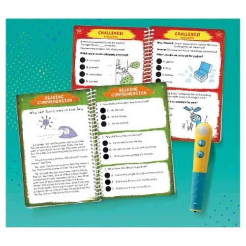 Educational Insights Hot Dots Jr. Let's Master Grade 2 Reading Set with Hot Dots Pen