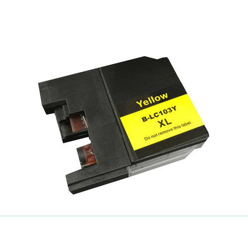 Brother LC-103XL Replacement Yellow Toner Ink Cartridge