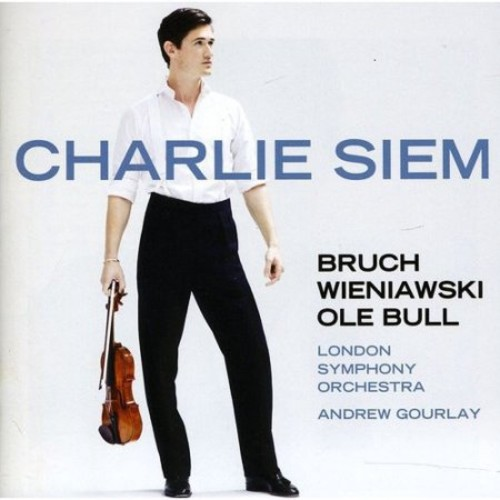 Wieniawski; Bruch; Bull: Violin Works - Charlie Siem