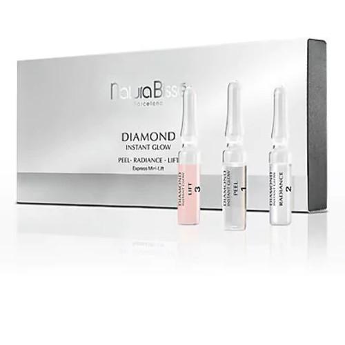 Natura Bisse Diamond Instant Glow - Perfecting Ampoules Trio