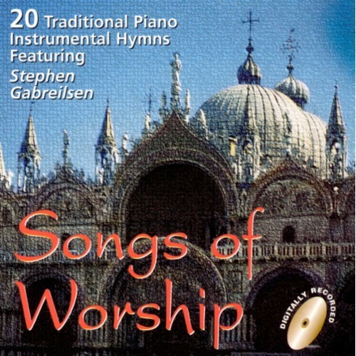 Songs of Worship: 21 Traditional Piano Hymns [CD]