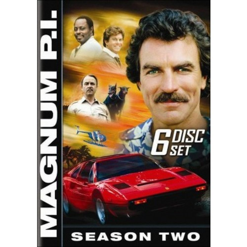 Magnum P.I.: The Complete Second Season (6 Discs) (dvd_video)