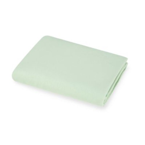 TL Care Knit Fitted Crib Sheet Made with Organic Cotton in Celery