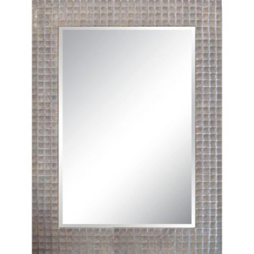 Rectangle Decorative Wall Mirror Silver - Yosemite Home Decor