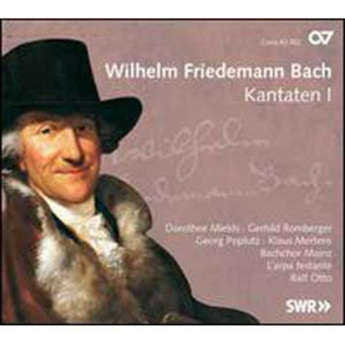 Wilhelm Friedemann Bach: Kantaten, Vol. 1 By Ralf Otto (Audio CD)
