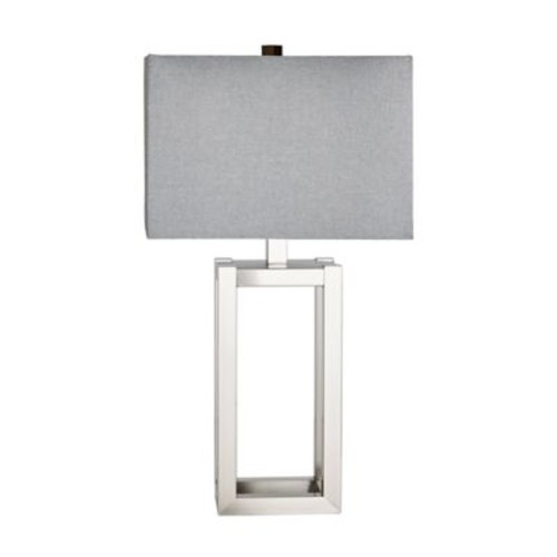 Madison Park Hampton Table Lamp in Silver