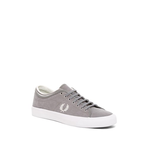 Kendrick Tipped Cuff Brushed Cotton Sneaker