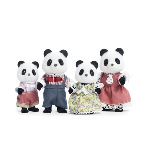 Calico Critters Wilder Panda Bear Family [Standard Packaging]