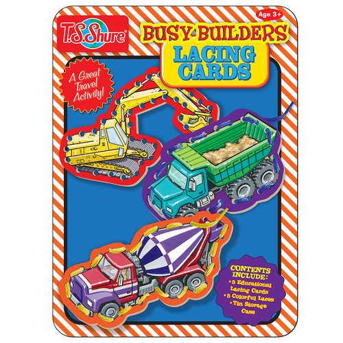 TS Shure Busy Builders Lacing Cards Tin