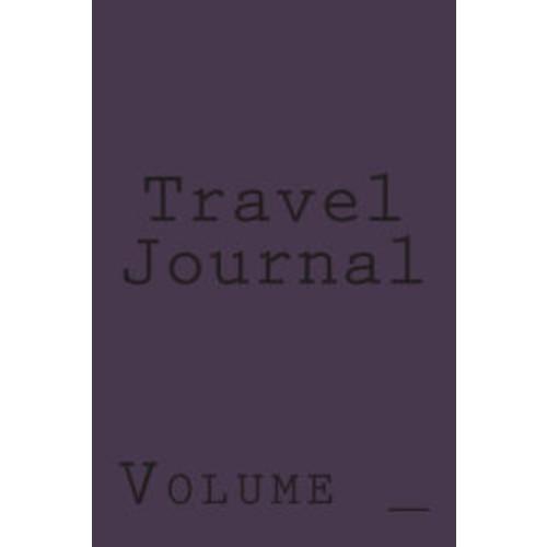 Travel Journal: Dark Purple Cover