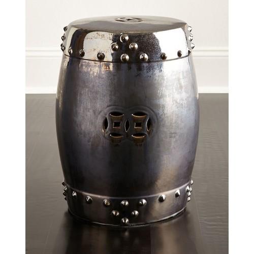 Drum Garden Stool