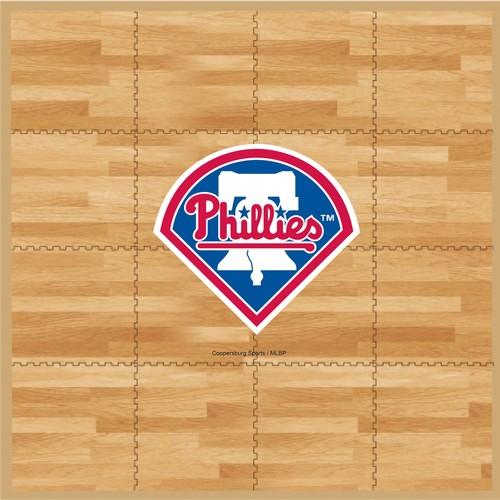 Coopersburg Sports Philadelphia Phillies Fan Floor