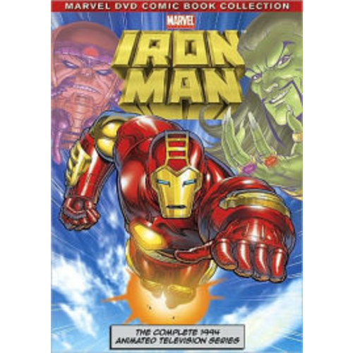 Marvel Iron Man: The Complete Animated Series (DVD)
