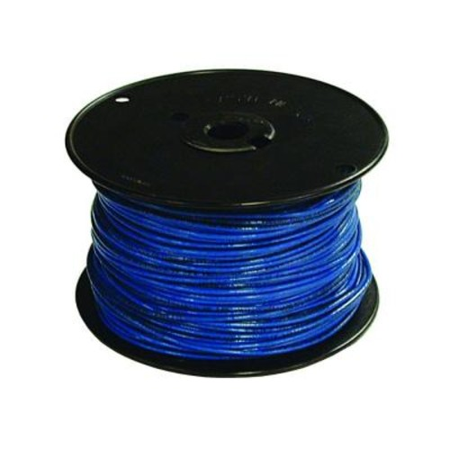 Southwire 500 ft. 16 Blue Stranded CU TFFN Fixture Wire