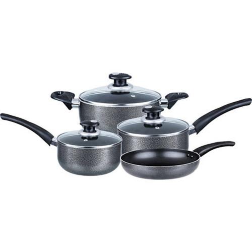 Brentwood 7-pc. Aluminum Non-Stick Cookware