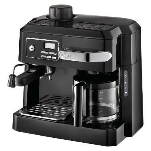 DeLonghi 3-in-1 Combination Espresso and Coffee Maker - Black