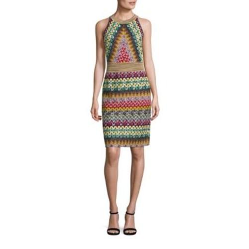 MISSONI Multi-Colored Halter Dress