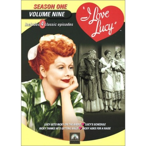 I Love Lucy: Season 1, Vol.9