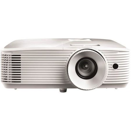 Optoma EH334 Full HD 3D DLP Multimedia Projector, 3600 Lumens, White