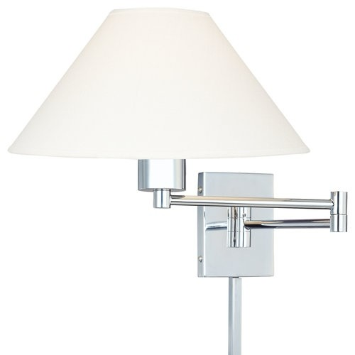 Kovacs P4358-1-077 1 Light Plug In Wall Sconce in Chrome from the Boring Collection